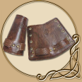Leather Armour - Celtic Bracers